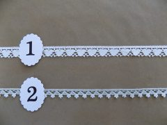 Pamut szélcsipkék 1,2-1,5cm cm