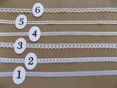 Pamut szélcsipkék 1-1,5cm cm