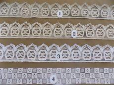 Pamut szélcsipkék 8-10 cm