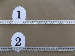 Pamut szélcsipkék 1 cm