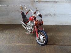Kismotor piros 25,5x6,5x11 cm