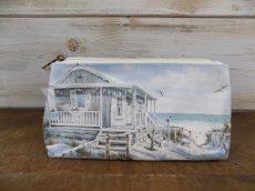 Beach Cabin vászonneszesszer 100% pamut, 25x12x7,5cm