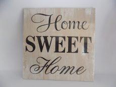 Sweet Home falitábla 30x30