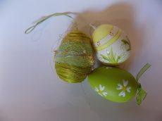 3db-os színes tojásszett