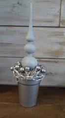 Karácsonyi asztaldsz ezüst 14x42