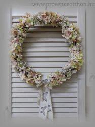 Ajtódísz/falidísz selyemvirág ∅:38cm