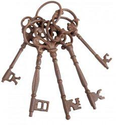 Dekor vas kulcskarika régies 25x8x6