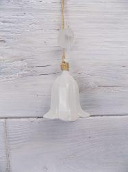 Porcelán harangvirág 6,5x6,5