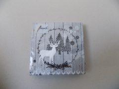 Ambiente papírszalvéta 25x25 Karácsonyi