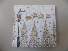 Ambiente papírszalvéta 33x33 Karácsonyi
