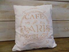 Díszpárna Cafe de Paris 31x35
